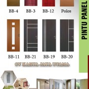 pintu panel wpc